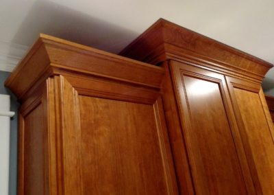 Cherry Cabinet - offset height & depth