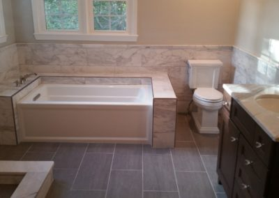 Custom Bathroom A - pic 1