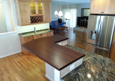 Custon Walnut Top - Pic 1 of 2